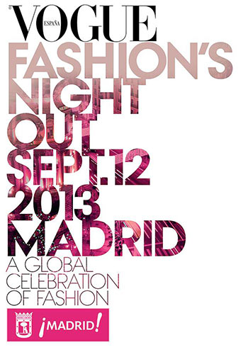 Vogue Fashion's Night Out Madrid 2013