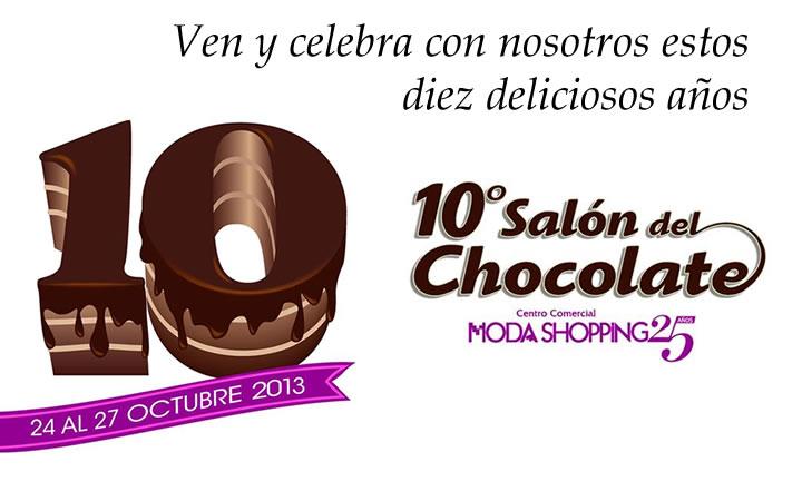 X Salón del Chocolate del Centro Comercial Moda Shopping de Madrid