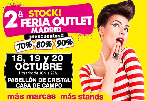 2ª edición Stock! Feria Outlet Madrid