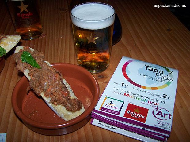 """Alma Café y su """"Pringá"""" de origen Sevillano. Tapapiés 2013"""