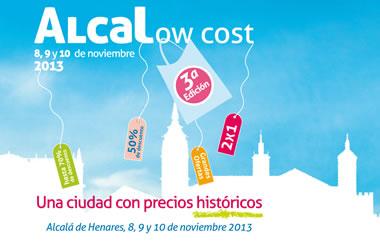 La tercera edición de Alcalow Cost se celebrará los días 8, 9 y 10 de noviembre