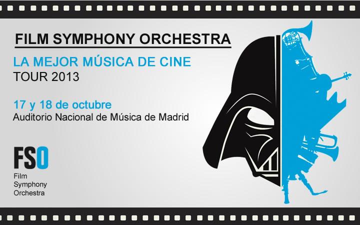 Film Symphony Orchestra comienza su gira 2013 en Madrid