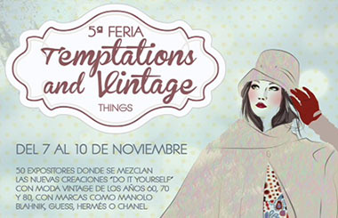 Temptations & Vintage Things, moda vintage de los 60, 70 y 80 en Zielo Shopping Pozuelo