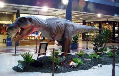 Los Dinosaurios invaden el Centro Comercial Arturo Soria Plaza