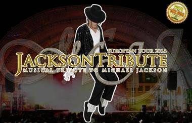 «JACKSON TRIBUTE» Premier gira europea 2014 en el Teatro Casablanca