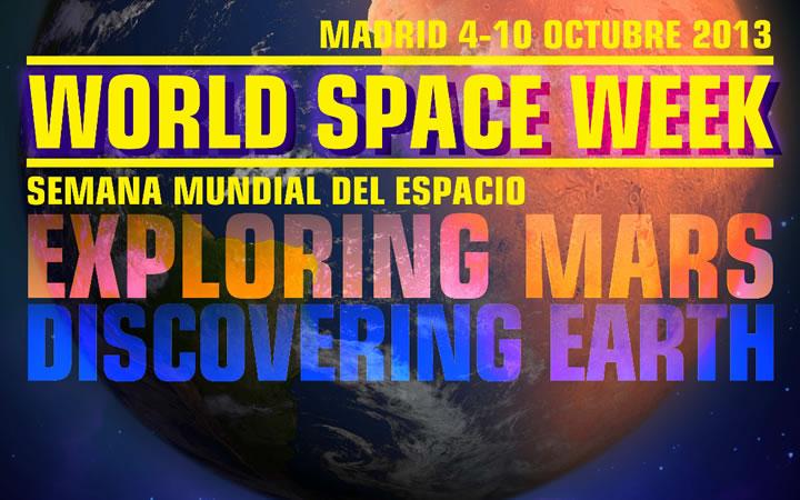 Semana Mundial del Espacio en Madrid 2013