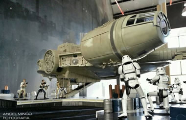 """Exposición de STAR WARS: """"Mitos de una galaxia muy lejana"""" en el Centro Dune Experience de Pozuelo"""