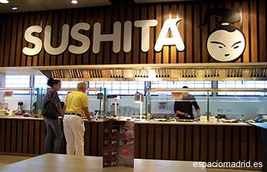 SUSHITA, sushi fresco con autoservicio y take away en la ciudad de Telefónica