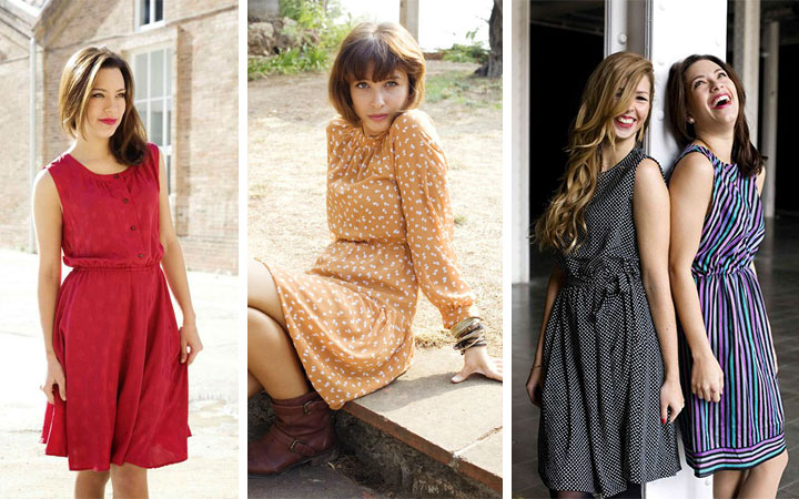 "Susi Sweet Dress, mercado de vestidos vintage en ""La Industrial"""