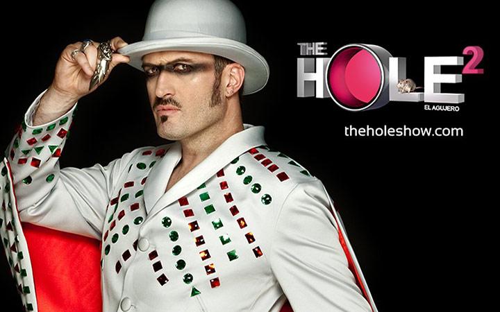 THE HOLE 2 fusión de Cabaret y la Revista en el Teatro La Latina