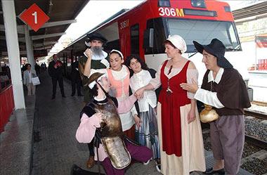 A partir del 12 de octubre vuelve el Tren de Cervantes