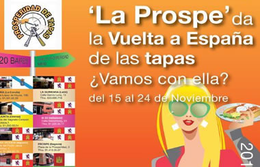 """""""Prosperidad de Tapas 2013"""": homenaje a la cultura gastronómica española"""