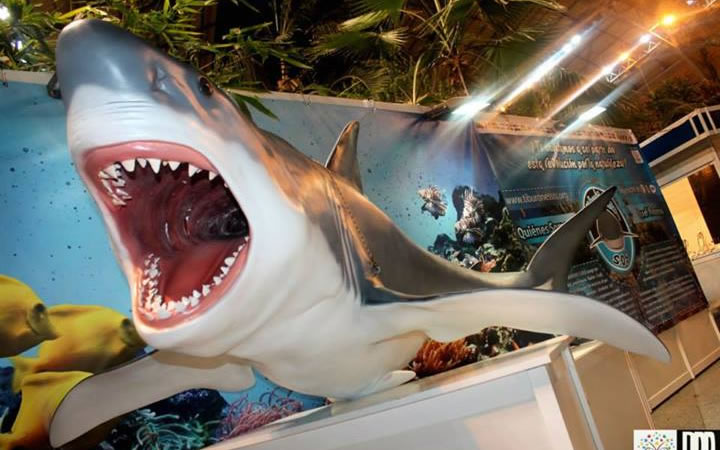 Feria de Tiburones en el Jardín Invernadero de Atocha Ave