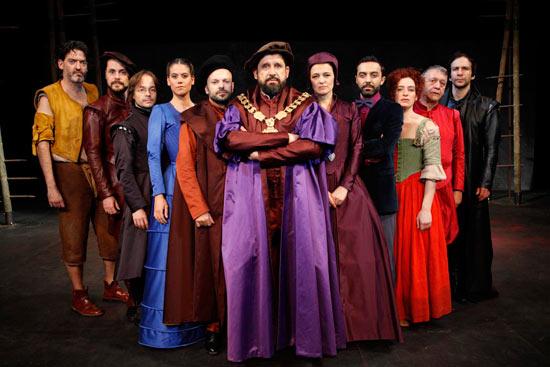 Sorteamos 6 entradas dobles para «Tomás Moro, una utopía» en el Teatro Fernán Gómez