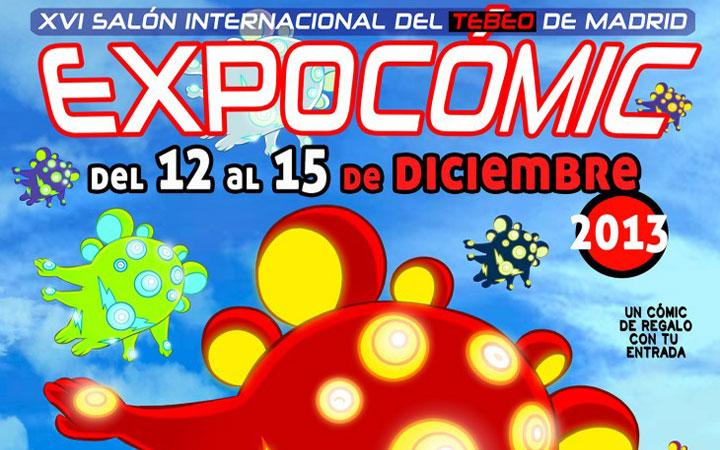 EXPOCÓMIC 2013, Salón Internacional del Tebeo de Madrid en el Pabellón de Cristal de la Casa de Campo