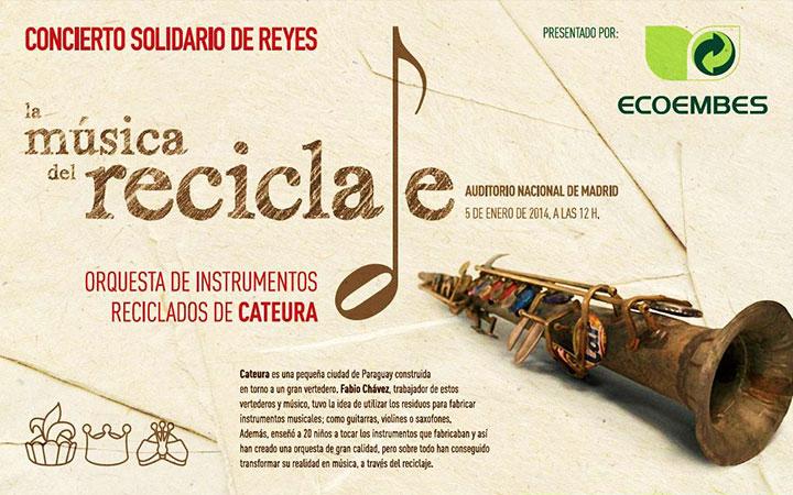 La música del reciclaje, la orquesta de instrumentos reciclados de Cateura