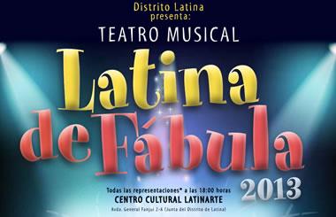 """Ciclo """"Latina de Fábula"""", tres musicales infantiles gratuitos para disfrutar en familia en diciembre"""