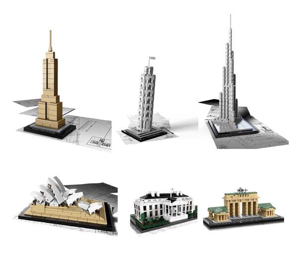 arquitectura y lego