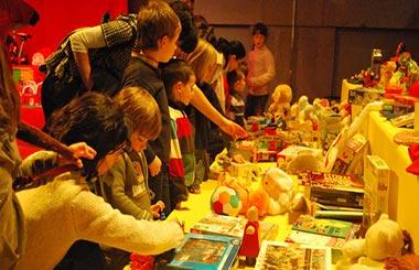 Sile Nole 2013, trueque de juguetes en La Casa Encendida