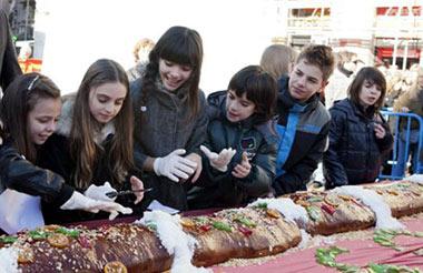 Aldeas Infantiles SOS repartirá diez mil raciones de Roscón de Reyes y chocolate caliente