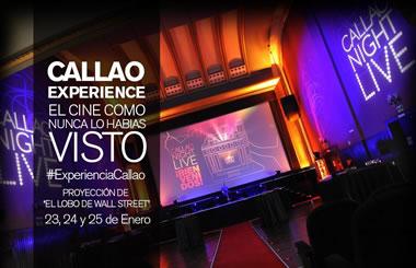 Callao Experience, cena en el cine mientras ves tu película favorita