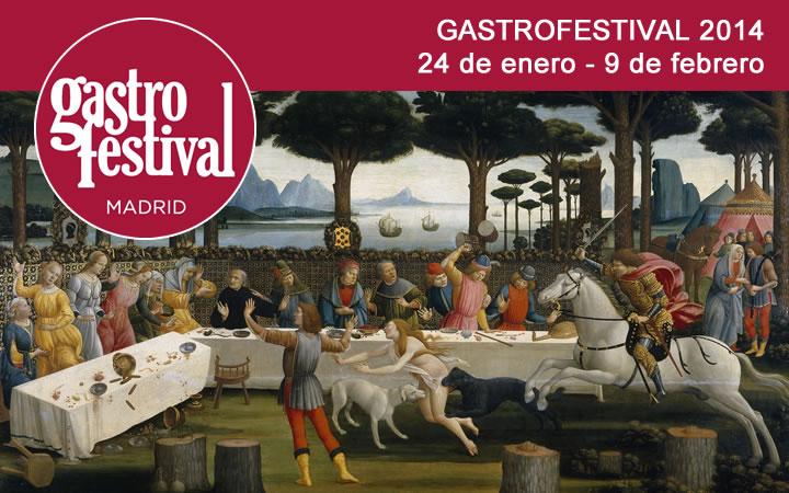 GASTROFESTIVAL MADRID 2014, del 24 de enero al 9 de febrero