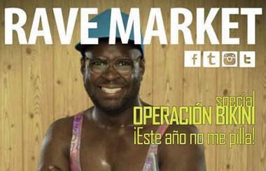 RAVE MARKET «Operación Bikini», el 2 de febrero de 2014 en la Sala Shoko de Madrid