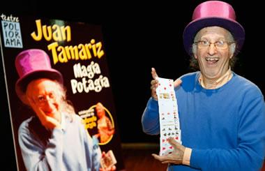 Magia Potagia con Juan Tamariz en el Circo Price los días 7 y 8 de febrero