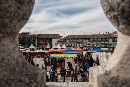 Mercado Medieval de Chinchón con motivo del carnaval