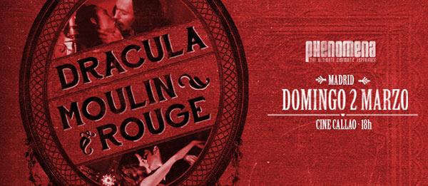Phenomena Experience celebra San Valentín con «Drácula» y «Moulin Rouge»