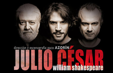 """Sorteamos 10 entradas dobles para """"Julio César"""" en el Teatro Bellas Artes"""
