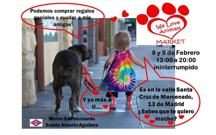 We Love Animals Market – 5ª, reunión de Tiendas Solidarias para los Animales