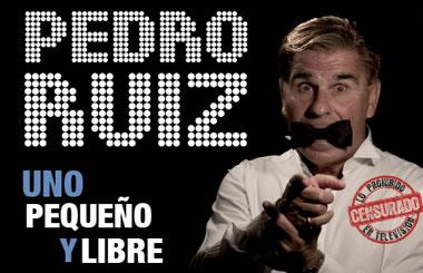 Sorteamos 25 entradas dobles para «Uno, Pequeño y Libre» de Pedro Ruiz en el Teatro Amaya