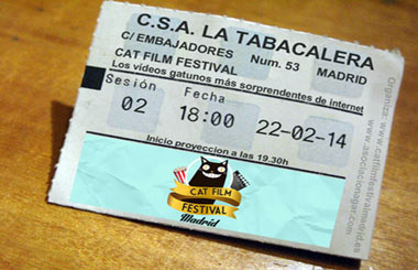 Cat Film Festival Madrid 2014. Sesión 2