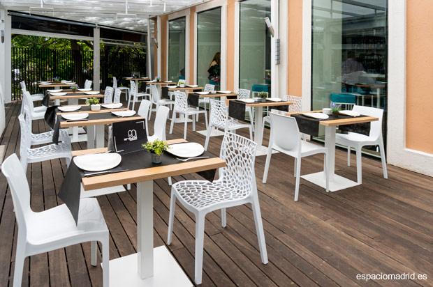 90 GRADOS, restaurante afterwork con agradable terraza en la zona Retiro