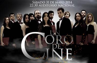 """""""Un coro de cine"""" en el Auditorio Nacional"""