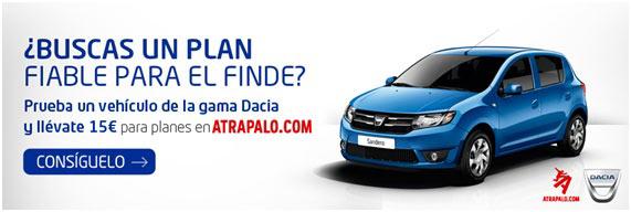 promo Dacia Atrápalo