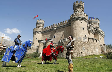 Fin de semana medieval en el Castillo de Manzanares El Real