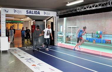 Compite contra atletas olímpicos y paralímpicos en la Estación de Atocha