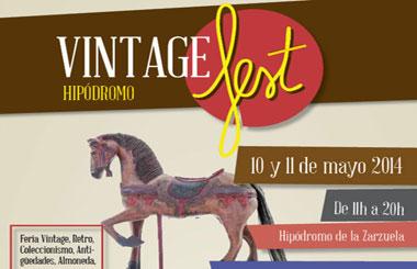 VintageFest Hipódromo, en Madrid del 10 al 11 de mayo 2014