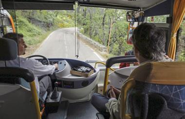 Nuevos Autobuses Verdes para visitar el Parque Nacional de Guadarrama este verano