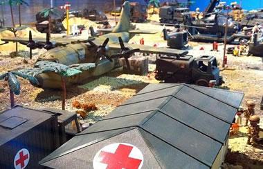 El Mercado del juguete de Madrid inaugura un Diorama homenaje a las Fuerzas Armadas Españolas