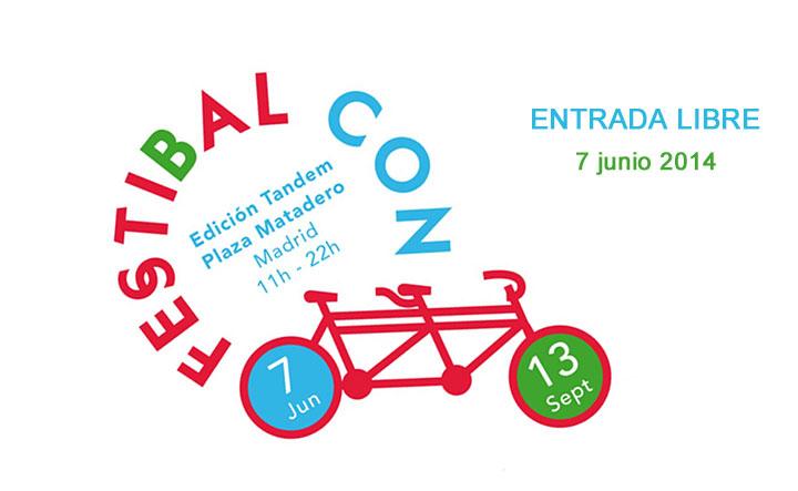 FestiBal con B de Bici 2014 en Matadero Madrid