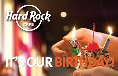 Hard Rock Café Madrid celebra su 43 aniversario con los precios de 1971