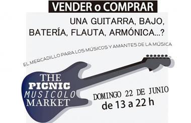 THE PICNIC MUSICOLO MARKET, compra y venta de instrumentos musicales
