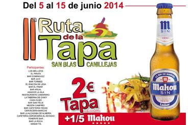 Ruta de la Tapa de San Blas-Canillejas 2014
