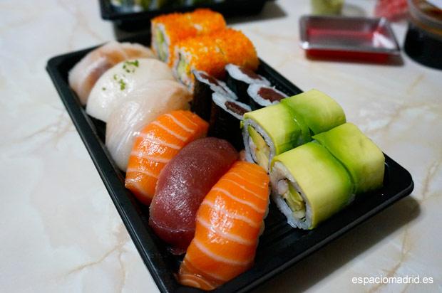 GO! SUSHING, sushi a domicilio de calidad