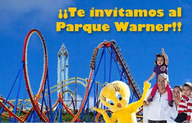 Sorteamos dos entradas dobles al Parque Warner Madrid