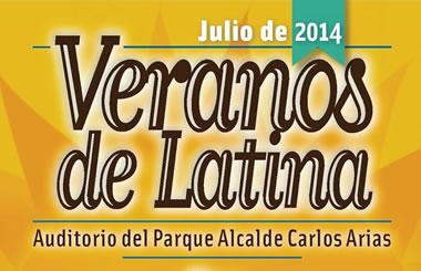 Los Veranos de Latina en el Auditorio al aire libre del parque Alcalde Carlos Arias