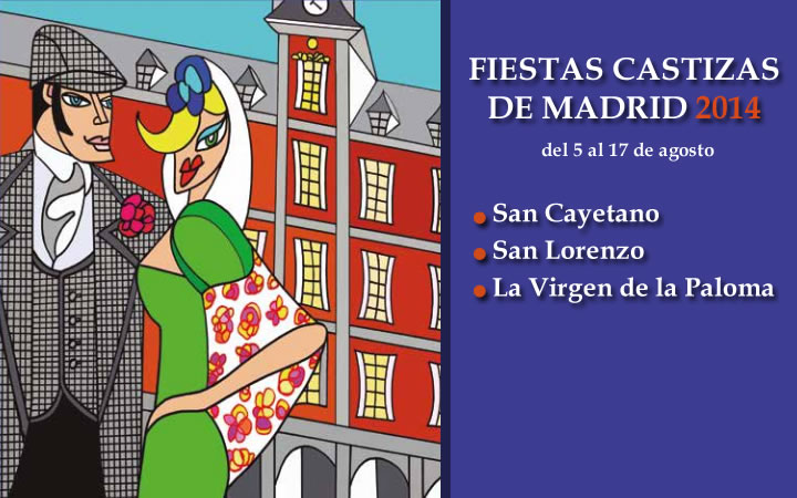 Programación Fiestas de San Cayetano, San Lorenzo y la Virgen de la Paloma 2014